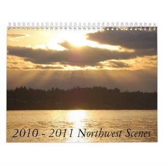2010 - 2011 Northwest Scenes Calendar