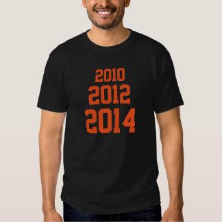 2010 2012 2014 T SHIRT