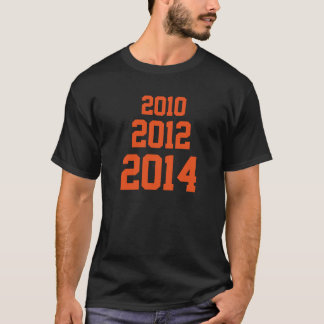 2010 2012 2014 T-Shirt