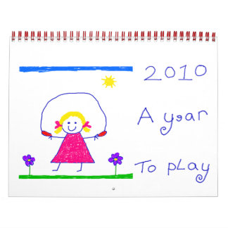2010 - A Year To Play! Calendar