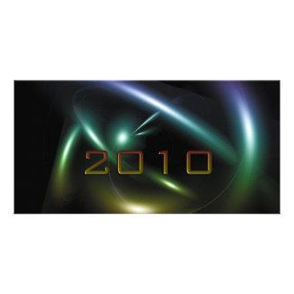 2010 Abstract Tarjeta Fotografica
