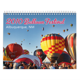 2010 Albuquerque, NM Balloon Festival Calendar
