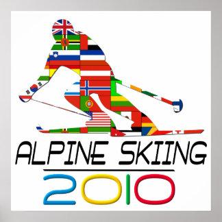 2010: Alpine Skiing Poster