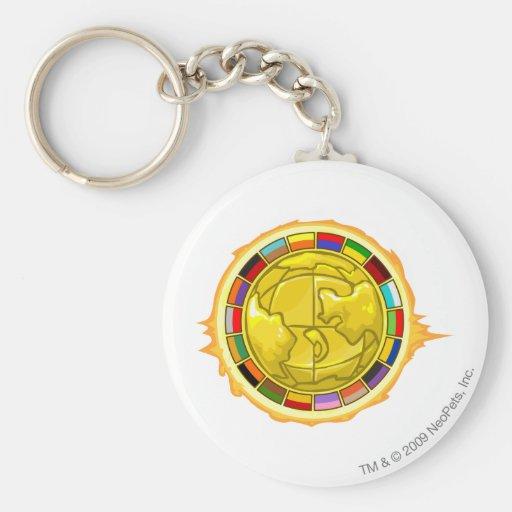 2010 Altador Cup Logo Basic Round Button Keychain