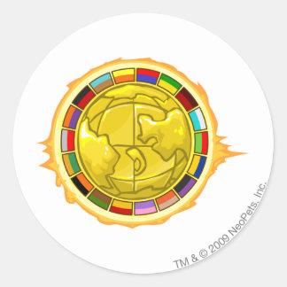 2010 Altador Cup Logo Classic Round Sticker
