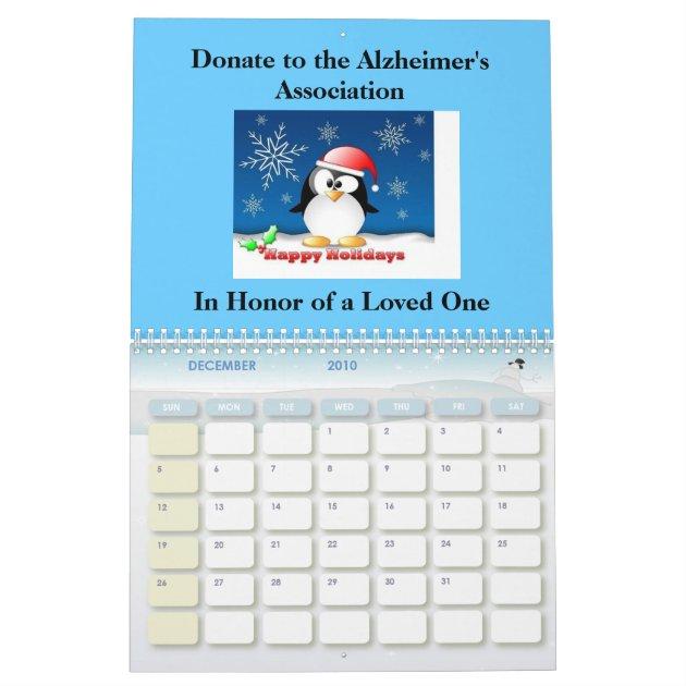 2010 Alzheimer's Awareness Calendar... Calendar | Zazzle