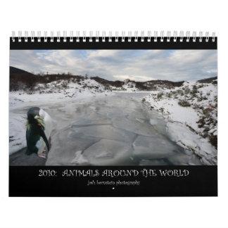 2010: Animales en todo el mundo Calendario
