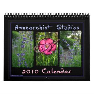 2010 Annearchist Studios Calendar