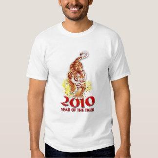 2010 años de la camiseta del tigre remeras