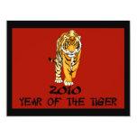 2010 años de las tarjetas del tigre, invitaciones invitacion personal