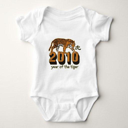 2010 años del tigre t-shirts