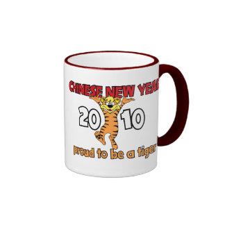 2010 Años Nuevos chinos del tigre Taza De Café