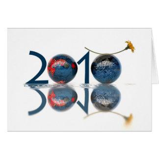 2010 Años Nuevos Felicitacion