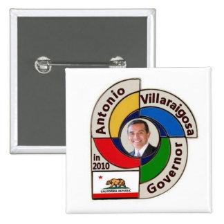 2010 Antonio Villaraigosa Square Pin