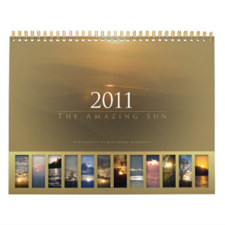 2010 (archival) - el calendario asombroso de Sun