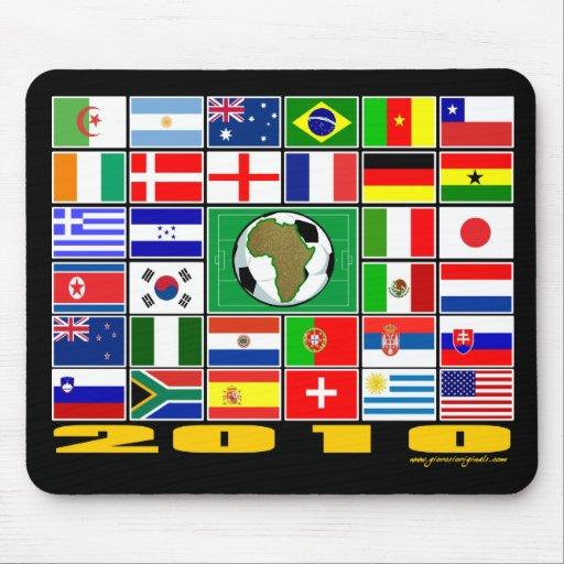 2010 - Banderas Alfombrilla De Ratón