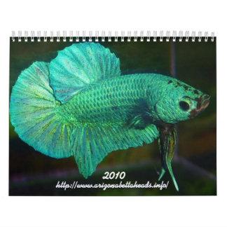 2010 Betta Calendar