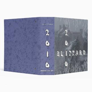 2010 Blizzard Custom Photo Album 3 Ring Binder