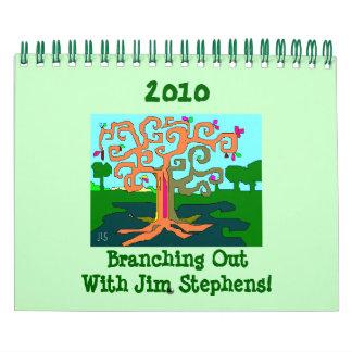 2010 Branching Out! Calendar