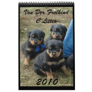 2010 C Litter Calendar
