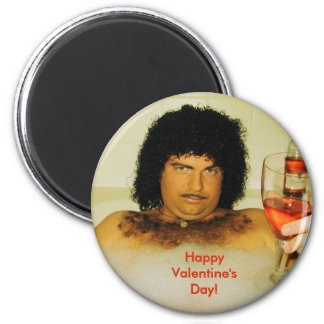 2010 Calander 2 Febuary, Happy Valentine's Day!... 2 Inch Round Magnet