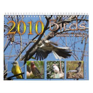 2010 Calendar Birds of South Texas