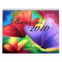 2010 Calendar Butterfly Painting calendar