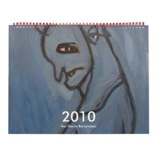 2010 Calendar by Iker Garcia Barrenetxea