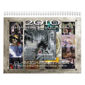 2010 Calendar :: Charles  Watson  Art