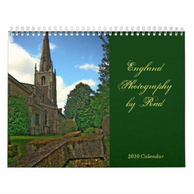 2010 Calendar England Photography