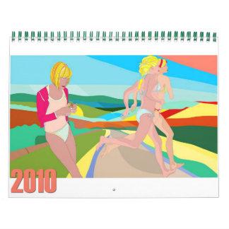 2010 Calendar illustrated by nerosunero