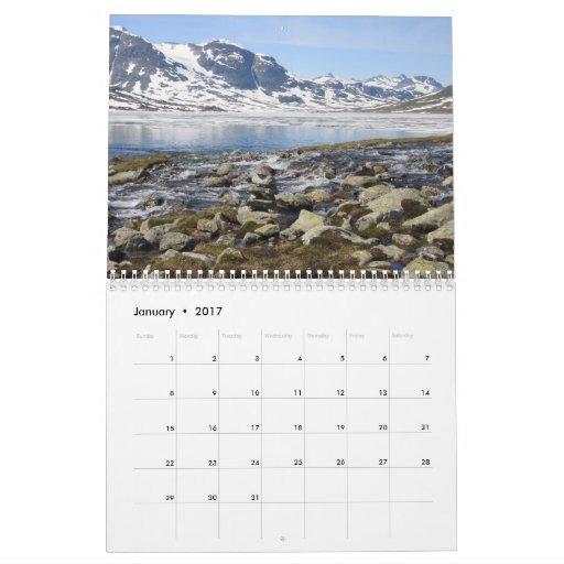2010 Calendar, Norway Revealed Calendar