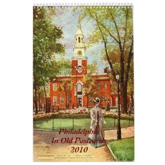 2010 Calendar Philadelphia in Old Postcards