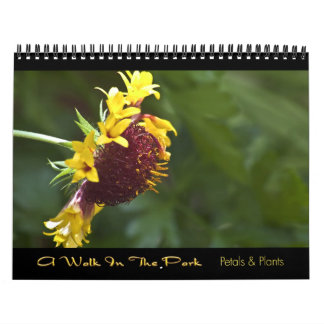 2010 calendario - un paseo en el parque
