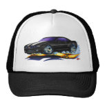 2010 Camaro Black-White Car Trucker Hat