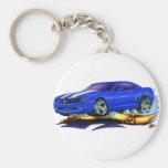 2010 Camaro Blue-White Car Key Chains