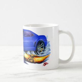 2010 Camaro Blue-White Car Classic White Coffee Mug