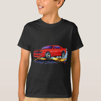 2010 Camaro Red-Black Car T-Shirt