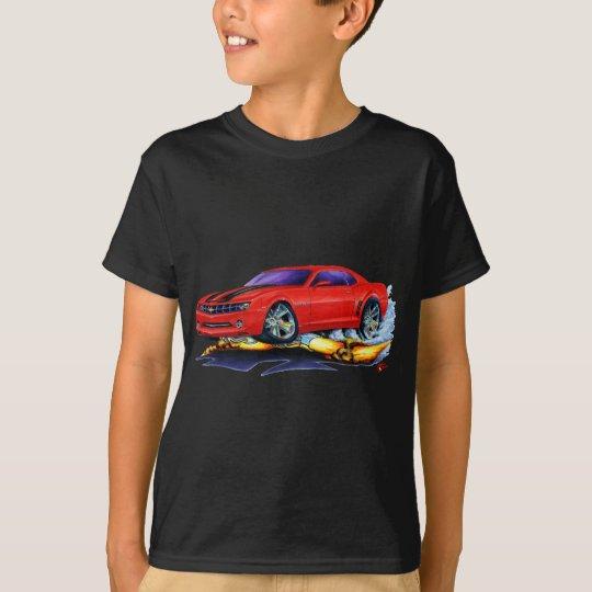 2010 Camaro Red-Black Car T-Shirt
