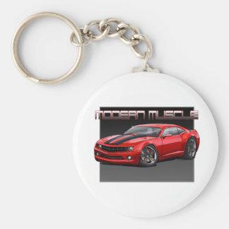 2010_Camaro_Red Basic Round Button Keychain