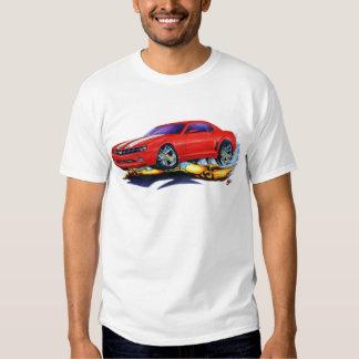 2010 Camaro Red-White Car Tee Shirt