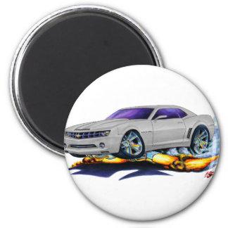 2010 Camaro Silver Car Magnet