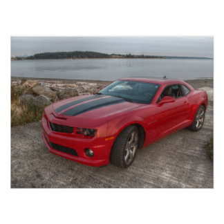 2010 Camaro SS/RS Poster