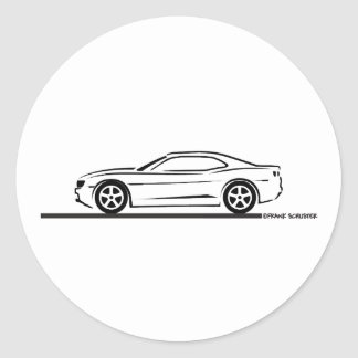 2010 Camaro Stickers