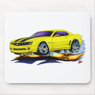 2010 Camaro Yellow-Black Car Mouse Pad