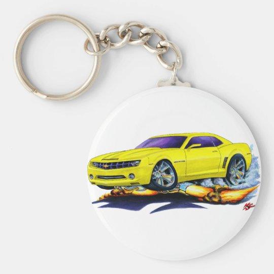 2010 Camaro Yellow Car Keychain