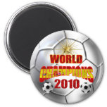 2010 campeones del mundo España Imán Redondo 5 Cm