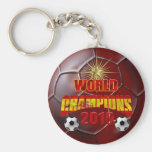 2010 campeones del mundo España Llavero Redondo Tipo Pin