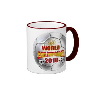 2010 campeones del mundo España Tazas De Café