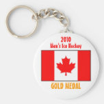 2010 Canada Men's Ice Hockey - Gold Medal Keychains